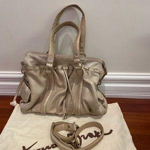 Junior drake leather handbag
